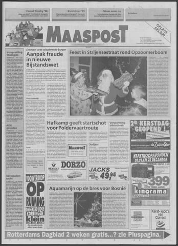 Maaspost / Maasstad / Maasstad Pers 1995-12-20