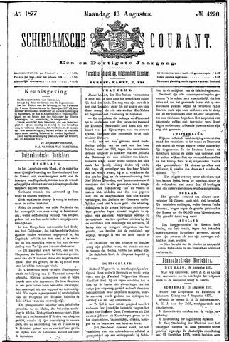 Schiedamsche Courant 1877-08-13