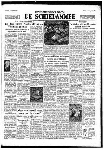 Rotterdamsch Parool / De Schiedammer 1948-10-13