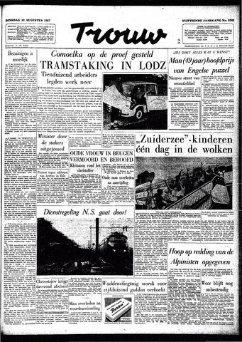 Trouw / De Rotterdammer 1957-08-13