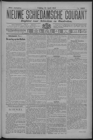 Nieuwe Schiedamsche Courant 1913-04-25