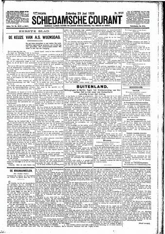 Schiedamsche Courant 1929-06-29