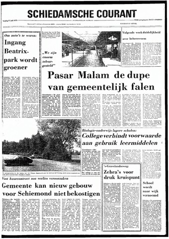 Rotterdamsch Nieuwsblad / Schiedamsche Courant / Rotterdams Dagblad / Waterweg / Algemeen Dagblad 1979-07-27