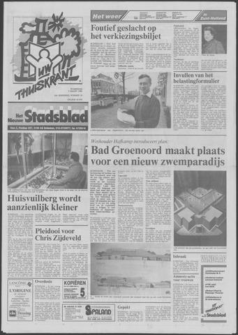 Het Nieuwe Stadsblad 1990-03-07