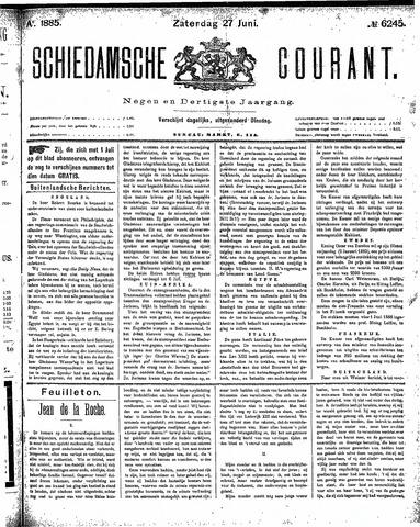 Schiedamsche Courant 1885-06-27