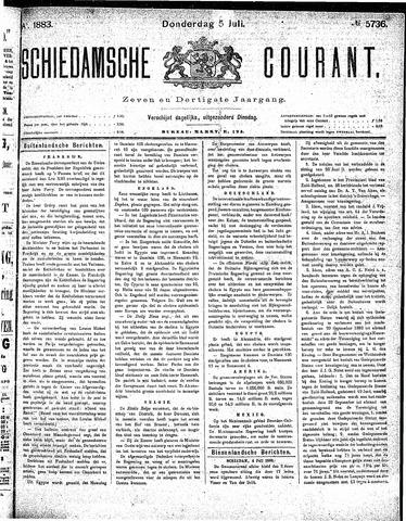 Schiedamsche Courant 1883-07-05