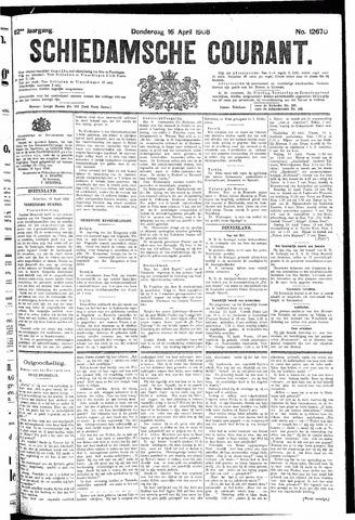 Schiedamsche Courant 1908-04-16