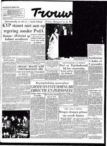 Trouw / De Rotterdammer 1958-04-28