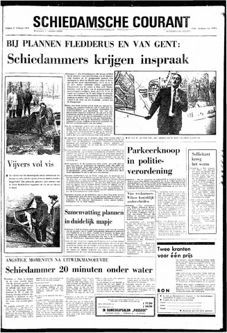 Rotterdamsch Nieuwsblad / Schiedamsche Courant / Rotterdams Dagblad / Waterweg / Algemeen Dagblad 1970-02-27