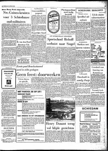 Rotterdamsch Parool / De Schiedammer 1963-07-13