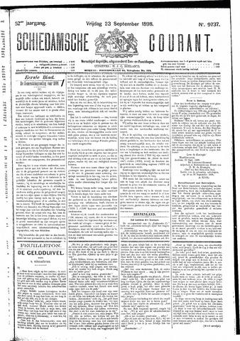Schiedamsche Courant 1898-09-23
