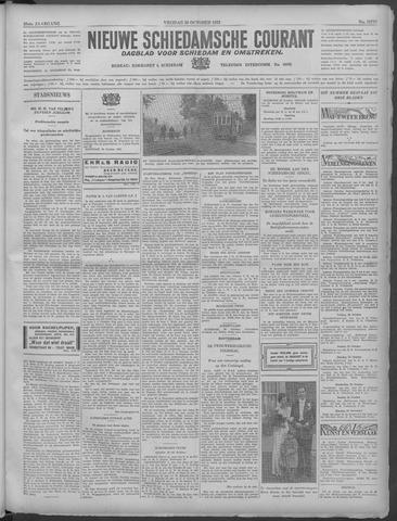 Nieuwe Schiedamsche Courant 1933-10-20