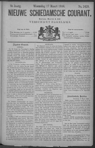 Nieuwe Schiedamsche Courant 1886-03-17