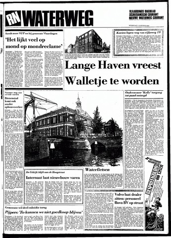 Rotterdamsch Nieuwsblad / Schiedamsche Courant / Rotterdams Dagblad / Waterweg / Algemeen Dagblad 1983-08-03