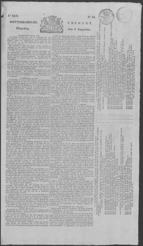 Rotterdamse Courant 1841-08-03