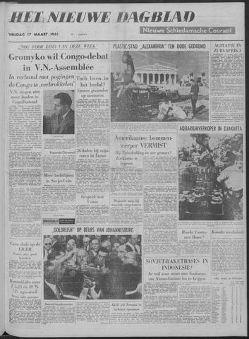 Nieuwe Schiedamsche Courant 1961-03-17