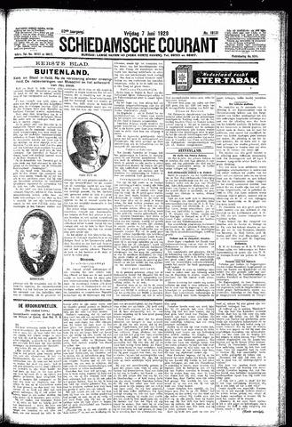 Schiedamsche Courant 1929-06-07