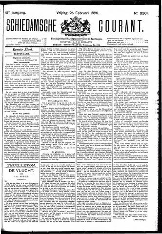 Schiedamsche Courant 1898-02-25