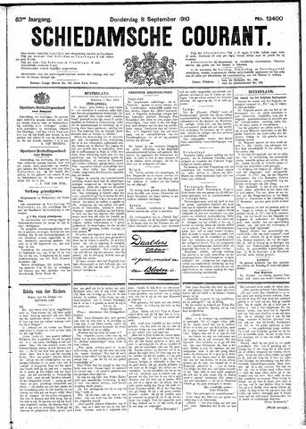 Schiedamsche Courant 1910-09-08