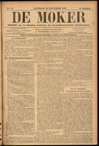 De Moker 1905-11-25