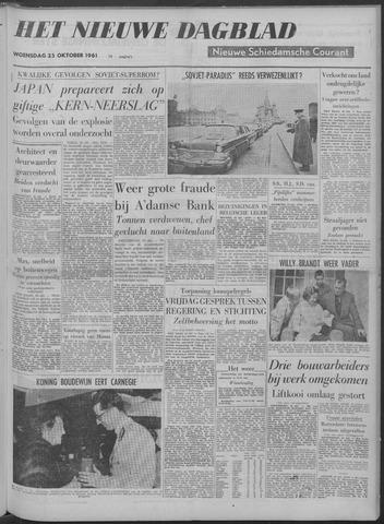 Nieuwe Schiedamsche Courant 1961-10-25
