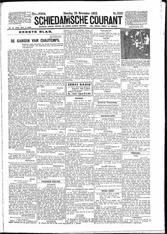 Schiedamsche Courant 1933-11-28