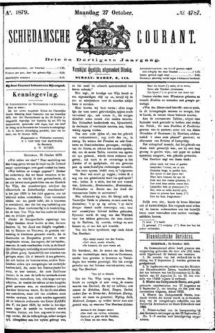 Schiedamsche Courant 1879-10-27