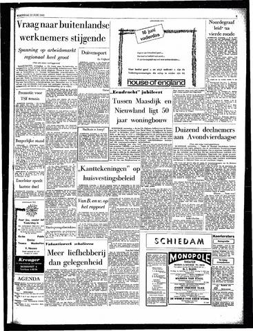 Rotterdamsch Parool / De Schiedammer 1963-06-12
