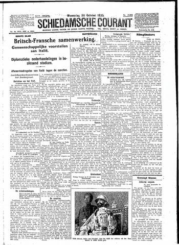 Schiedamsche Courant 1935-10-30