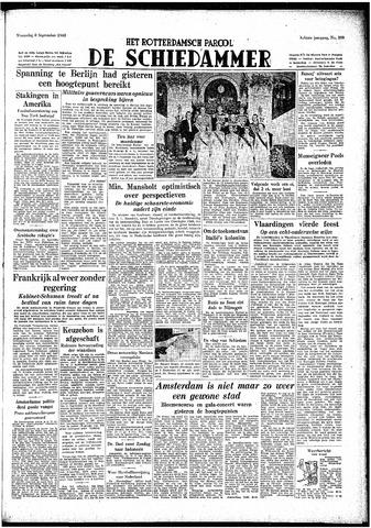 Rotterdamsch Parool / De Schiedammer 1948-09-08
