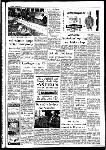 Rotterdamsch Parool / De Schiedammer 1961-05-30
