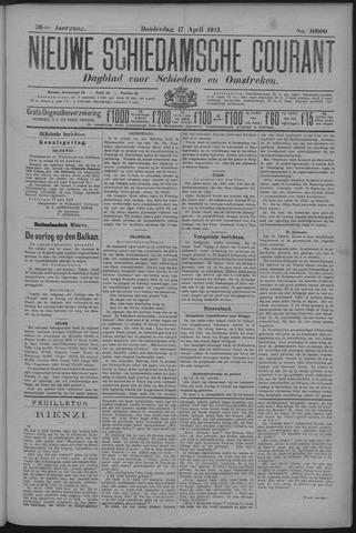 Nieuwe Schiedamsche Courant 1913-04-17