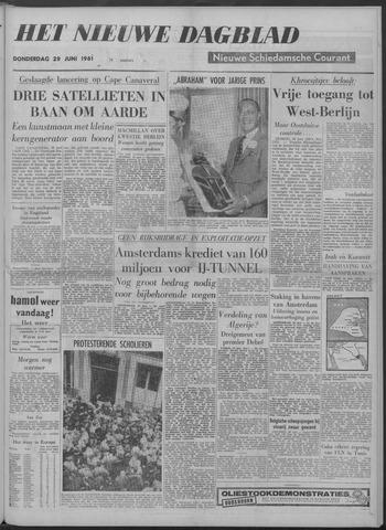 Nieuwe Schiedamsche Courant 1961-06-29
