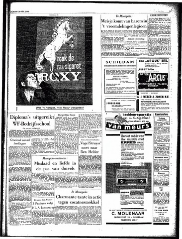 Rotterdamsch Parool / De Schiedammer 1962-10-13