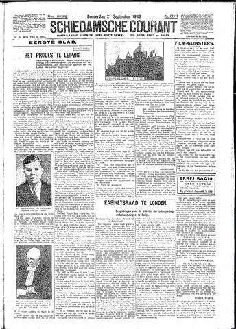 Schiedamsche Courant 1933-09-21