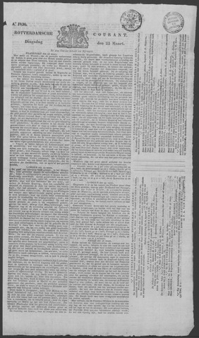 Rotterdamse Courant 1836-03-22