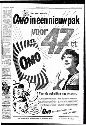 Rotterdamsch Nieuwsblad / Schiedamsche Courant / Rotterdams Dagblad / Waterweg / Algemeen Dagblad 1953-01-07