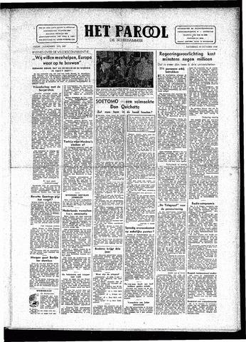 Rotterdamsch Parool / De Schiedammer 1946-10-19