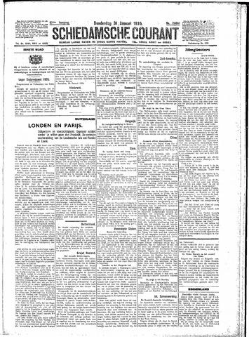 Schiedamsche Courant 1935-01-31