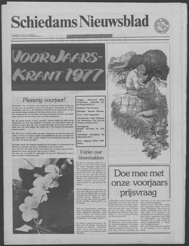 Schiedams Nieuwsblad 1977-06-01