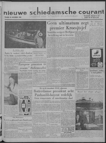 Nieuwe Schiedamsche Courant 1958-11-28