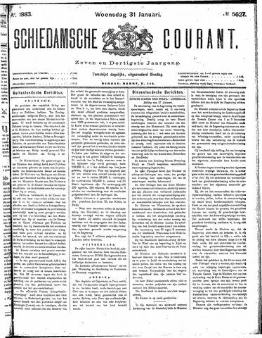 Schiedamsche Courant 1883-01-31