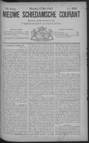 Nieuwe Schiedamsche Courant 1892-05-17
