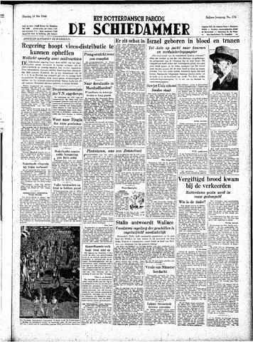 Rotterdamsch Parool / De Schiedammer 1948-05-18