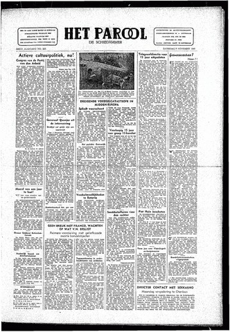 Rotterdamsch Parool / De Schiedammer 1946-11-09