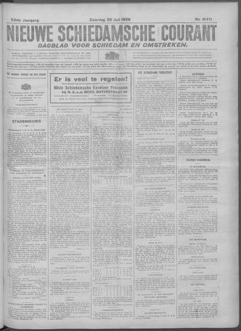 Nieuwe Schiedamsche Courant 1929-07-20