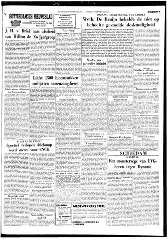 Rotterdamsch Nieuwsblad / Schiedamsche Courant / Rotterdams Dagblad / Waterweg / Algemeen Dagblad 1964-09-29