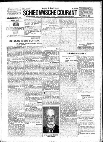 Schiedamsche Courant 1935-03-01