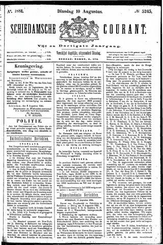 Schiedamsche Courant 1881-08-10