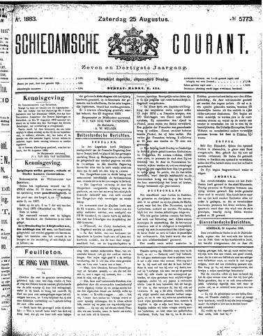 Schiedamsche Courant 1883-08-25